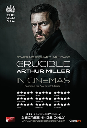 The Old Vic's The Crucible cover