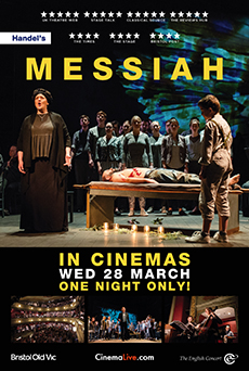 Messiah from Bristol Old Vic cover