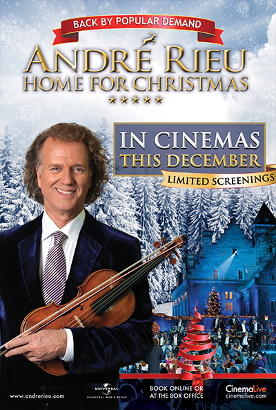 Home By Christmas.Andre Rieu Home For Christmas With Live Castle Tour