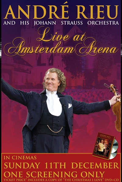 André Rieu: Live at the Amsterdam Arena cover