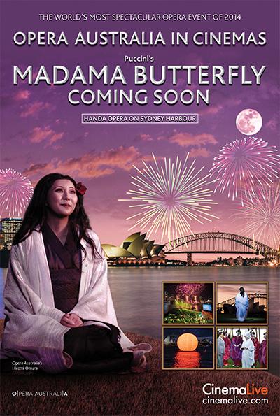 Madama Butterfly on Sydney Harbour cover