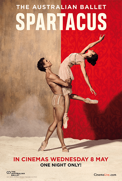 The Australian Ballet: Spartacus cover